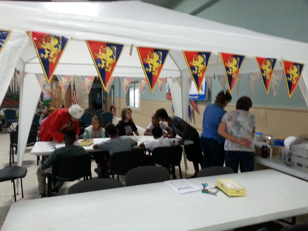 Bible School - 2017 - Mighty Fortress Art and Crafts